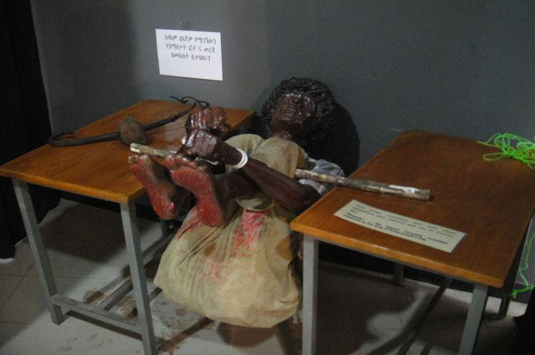 Communist torture method used in Ethiopia