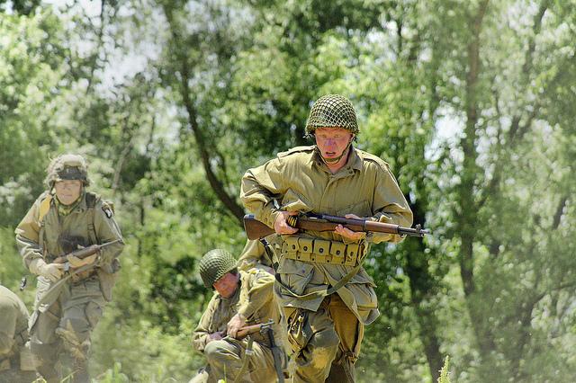 War Games - German assault