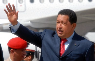 Hugo Chavez In Guatemala