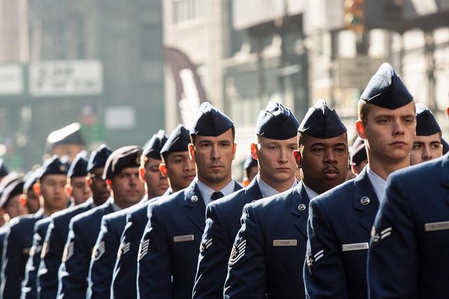New York City Veterans Day Parade 2012