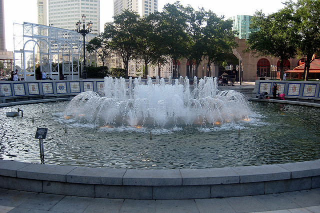 New Orleans - CBD: Spanish Plaza