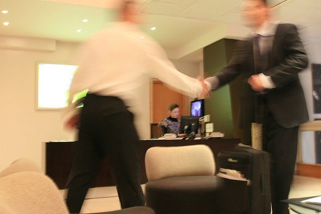 Corporate Cliche Shot No. 57 - 'The Handshake'