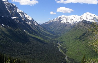 U-Valley, Going-to-the-Sun Road, Glacier National Park, Montana