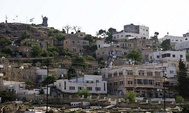Hebron hillside